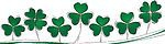 32398-Clipart-Illustration-Of-Three-And-Four-Leaf-Clovers-Growing-On-A-Green-And-White-Wave.jpg